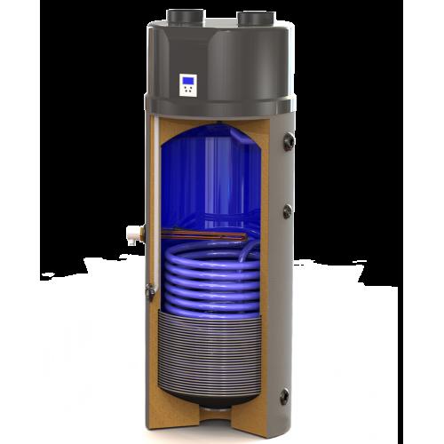 Boiler κάθετο με ενσωματωμένη αντλία θερμότητας και εναλλάκτη HPBC